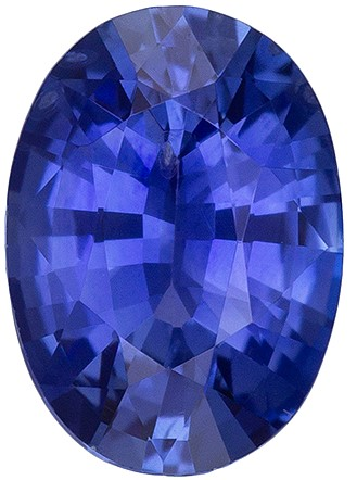 Must See Blue Sapphire Loose Gem, 0.9 carats, Oval Cut, 6.9 x 5  mm , Great Deal on This Gem
