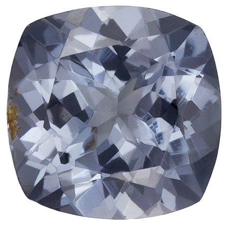 Natural Stunning Gray Spinel Loose Stone, 0.98 carats, Cushion Cut, 5.9 mm , Wonderful Gem - Great Deal