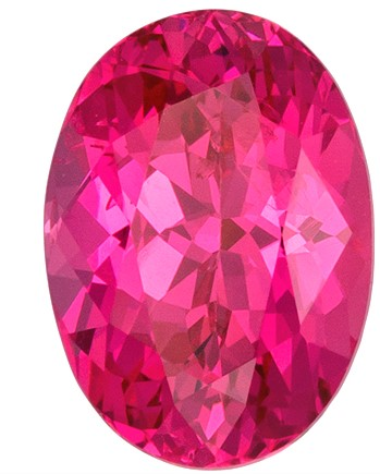 Terrific Buy on Pink Spinel Loose Gemstone, 1.03 carats, Oval Cut, 7 x 5  mm , Super Fine Stone