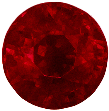 Highly Requested GIA Certified Ruby Quality Gem, 1.04 carats, Rich Pigeons Blood Red, Round Cut, 5.82 x 5.76 x 3.82 mm