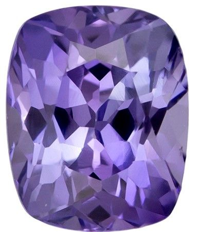 Selected Purple Sapphire Gemstone, 1.05 carats, Cushion Cut, 6.1 x 4.9 mm, A Beauty of a Gem