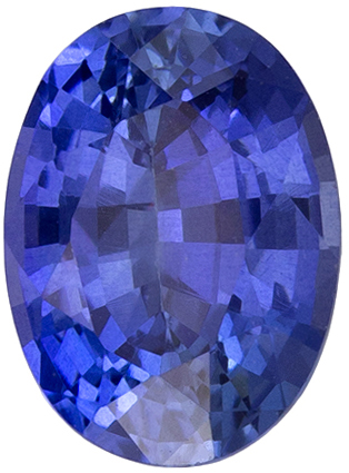 Great Price on 1.11 carat Blue Sapphire Gemstone in Oval Cut 7.1 x 5.2 mm