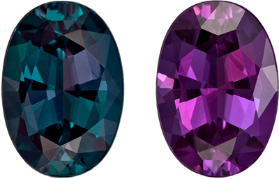 Fine Beautiful Gubelin Certified Alexandrite Genuine Gem, 7.84 x 5.48 x 3.53 mm, Vivid Teal to Rich Eggplant, Oval Cut, 1.13 carats