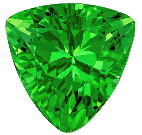 Terrific Buy on Chrome Tourmaline Genuine Gem, 1.15 carats, Trillion Cut, 7 mm , Super Low Price