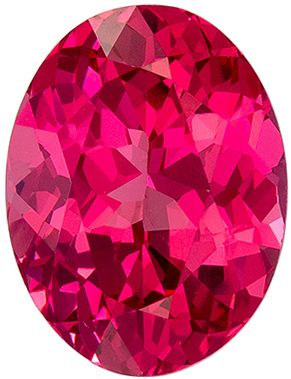 Fine Quality 1.19 carats Pink Spinel Oval Genuine Gemstone, 7.5 x 5.7 mm