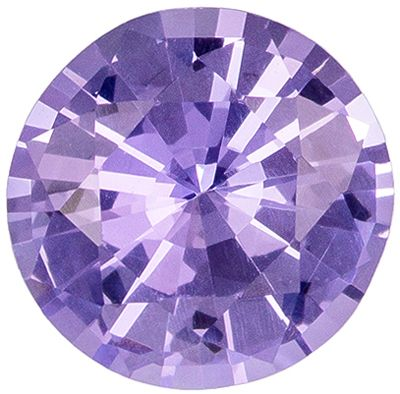 Beautiful 1.25 carats Purple Spinel Round Genuine Gemstone, 7 mm