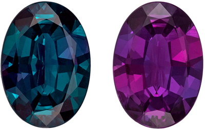Fine Gem Gubelin Certified Alexandrite Loose Gem, 1.33 carats, Teal Blue Green to Eggplant, Oval Cut, 8.6 x 6.14 x 3.3 mm