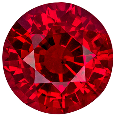 Highly Requested GIA Certified Ruby Loose Gem, 1.34 carats, Rich Pigeons Blood Red, Round Cut, 6.88 x 6.78 x 3.67 mm