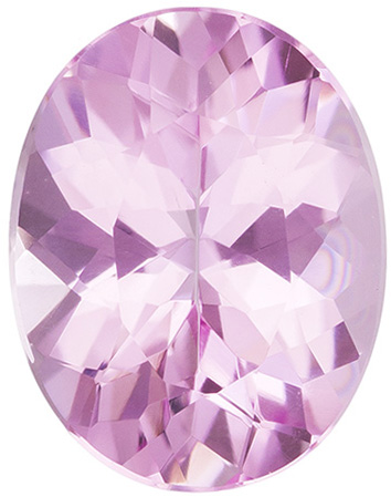 1.55 carats Pink Tourmaline Loose Gemstone in Oval Cut, Light Baby Pink, 9 x 7 mm