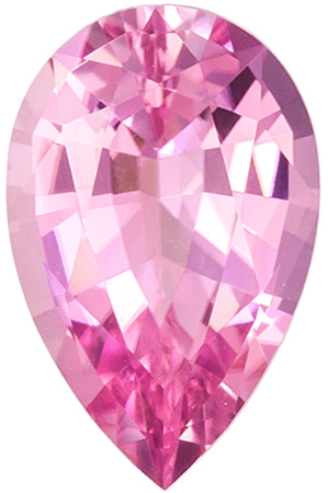 Exquisite Pink Tourmaline 1.6 carats, Pear shape gemstone, 9.9 x 6.4  mm