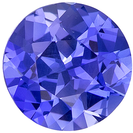 Fiery 1.61 carat Blue Sapphire GIA Certified Gemstone in Round Cut 7.18 x 7.23 x 4.31 mm