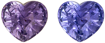 Very Desirable No Treatment GIA Certified Sapphire Quality Gem, 6.77 x 7.53 x 4.42 mm, Lavender Violet to Magenta Purple, Heart Cut, 1.67 carats