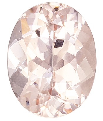 Selected Morganite Gemstone, 1.76 carats, Oval Cut, 9 x 7 mm, A Low Price