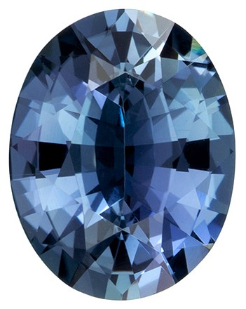 Deal on Attractive 1.89 Carat Blue Green Sapphire Gemstone in Oval Shape, 8.9 x 6.7 mm in Size