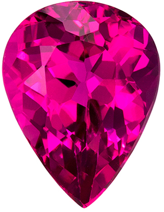 Gorgeous Rubellite Tourmaline 2.37 carats, Pear shape gemstone, 10.1 x 7.7  mm