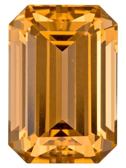 Faceted Precious Topaz Gemstone, Emerald Cut, 3.98 carats, 10.2 x 7 mm , AfricaGems Certified - A Low Price