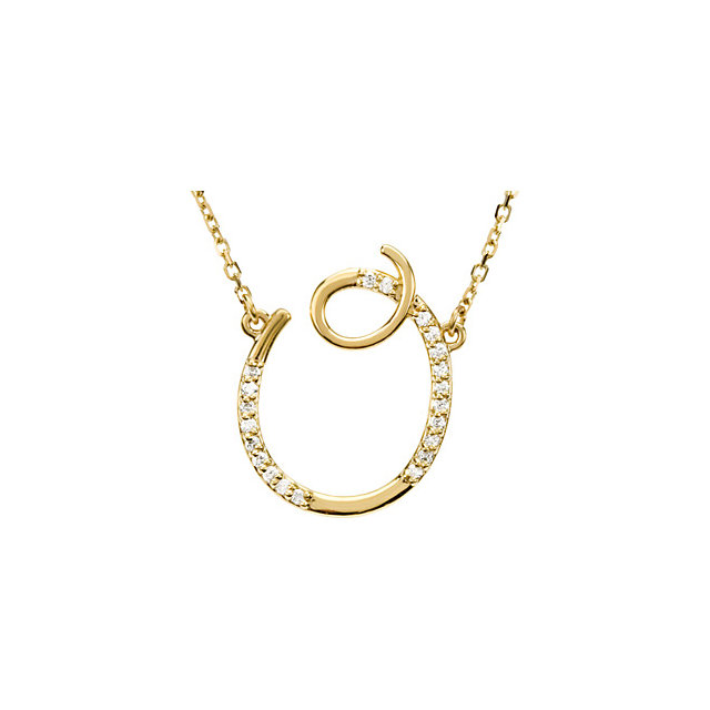 Shop 14 KT Yellow Gold Letter