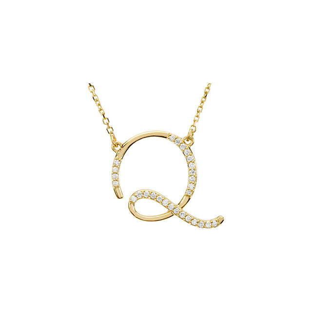 Low Price on 14 KT Yellow Gold Letter