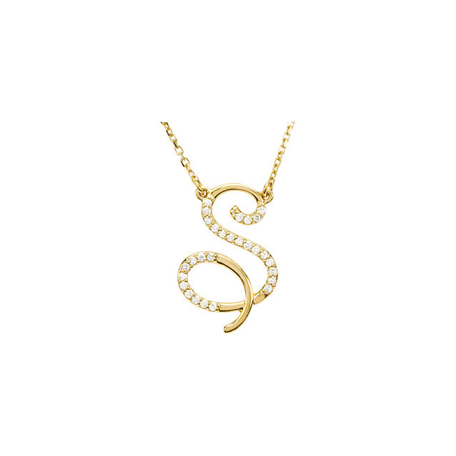 Low Price on Quality 14 KT Yellow Gold Letter