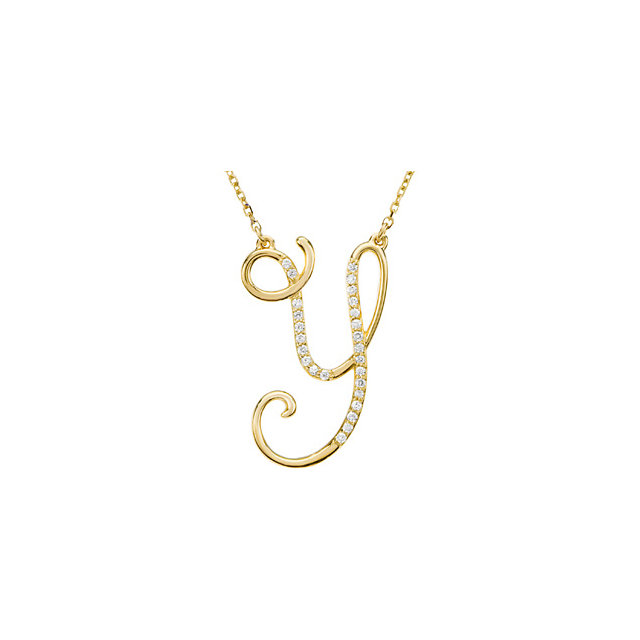Great Buy in 14 KT Yellow Gold Letter