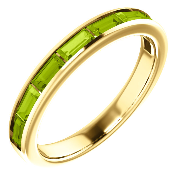 Deal on 14 KT Yellow Gold Peridot Ring