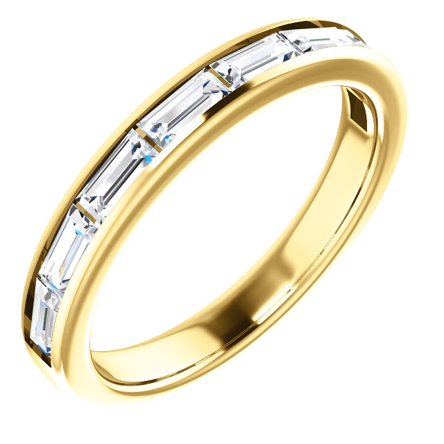 Appealing Jewelry in 14 Karat Yellow Gold Sapphire Ring