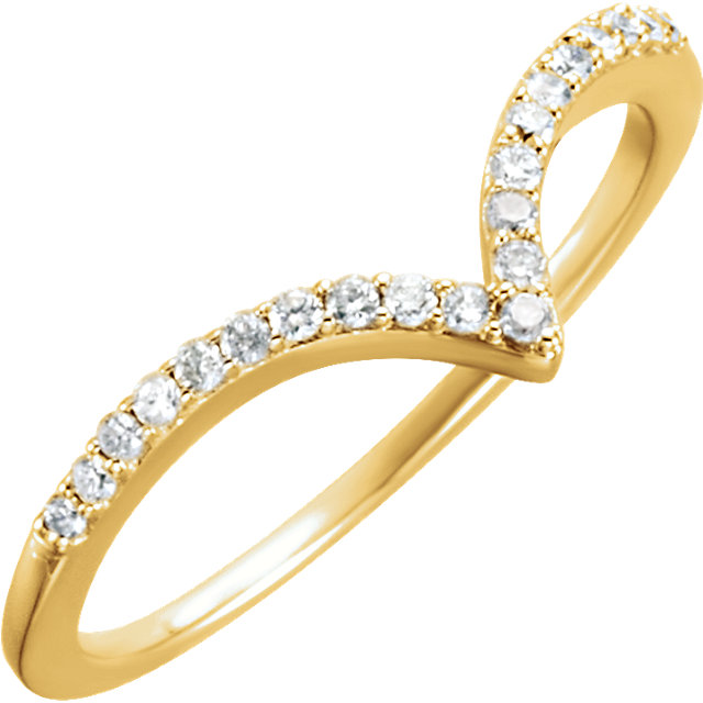 Buy 14 Karat Yellow Gold 0.17 Carat Diamond