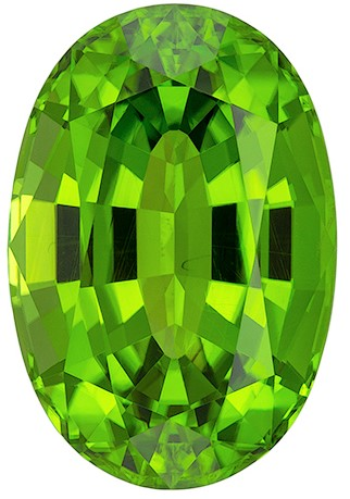 Top Superb Gem in Green Peridot Loose Gem, 18.19 carats, Oval Cut, 19.4 x 13.1  mm , Amazing Low Price