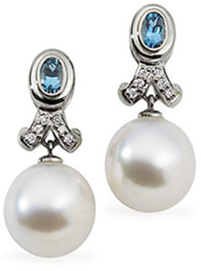 18KT Palladium White 12mm Pearl