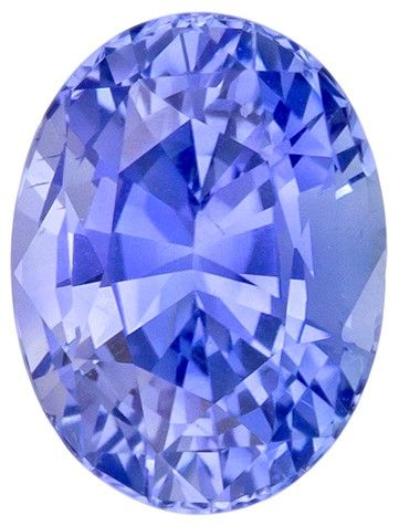 No Heat Blue Sapphire Gemstone, 2.07 carats, Oval Cut, 8.14 x 6.11 x 5.07 mm, Great Looking Stone with GIA Cert