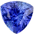 Authentic Blue Sapphire Gemstone, Trillion Cut, 2.1 carats, 7.87 x 7.73 x 5.15 mm , AfricaGems Certified - A Deal