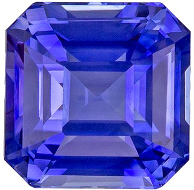 Very Special 2.18 carats Blue Sapphire Emerald Genuine Gemstone, 6.7 mm
