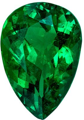 Rare Quality in Emerald Gemstone, GIA Certified 2.20 carats, Xtra Fine Crystal Clean in Pear Cut, 10.5 x 7.29 x 5.21 mm