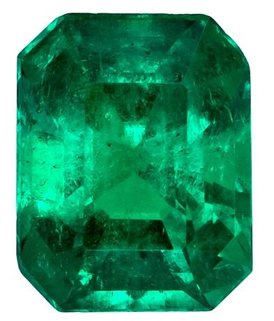 Heirloom Emerald Gemstone, 2.24 carats, Emerald Cut, 8.78 x 6.94 x 5.84 mm, Great Deal on This Gem with Cert
