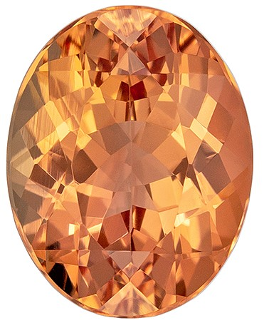 Terrific Buy on Imperial Topaz Genuine Gemstone, 2.33 carats, Oval Cut, 9 x 7.1  mm , Great Deal on This Gem