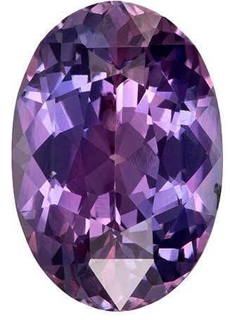 Genuine Purple Sapphire Gemstone, Oval Cut, 2.34 carats, 9.7 x 6.7 mm , AfricaGems Certified - A Great Buy