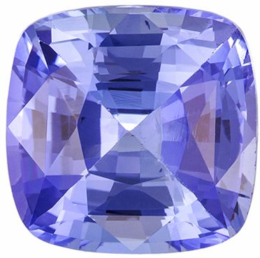 Very Special 2.6 carats Blue Sapphire Cushion Genuine Gemstone, 7.9 x 7.7 mm