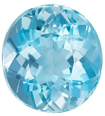 Selected Aquamarine Gemstone, 2.68 carats, Oval Cut, 9.5 x 8.7 mm, A Great Find On This Gem