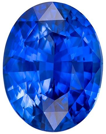 Heirloom Blue Sapphire Gemstone, 2.7 carats, Oval Cut, 9.1 x 7 mm, Low Low Price