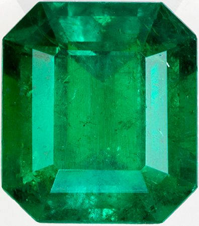 Impressive Emerald Gem in GIA Certified Emerald in Zambian Stone, Killer Green Color in Emerald Cut, 9.16 x 8.07 x 5.67 mm, 2.81 carats