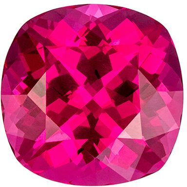 Fine Quality 2.84 carats Pink Spinel Cushion Genuine Gemstone, 8.2 x 8.1 mm