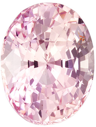 2.05 Carat Unheated GIA Certified Padparadscha Sapphire Loose Gem in Oval Cut, Vivid Pink Orange, 8.2 x 6.3 mm - SOLD