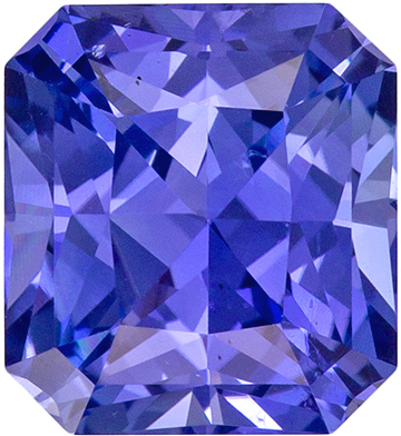 Stunning Gem in 3.15 carat Cornflower Blue Sapphire Radiant Cut with GIA No Heat Cert in 8.2 x 7.5mm