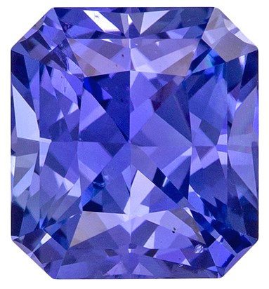 Low Price Blue Sapphire Genuine Gemstone, 3.15 carats, Radiant Shape, 8.25 x 7.52 x 5.36 mm  with GIA Certificate