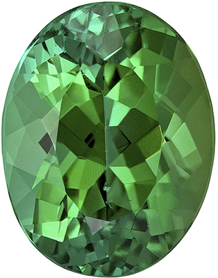 Gorgeous Oval Shape Blue Green Tourmaline Loose Gem, 3.16 carats, Minty Blue Green Color, 10.1 x 7.9 mm