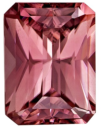 Great Deal on Brown Zircon Genuine Gem, 3.45 carats, Radiant Cut, 9.2 x 6.8  mm , Amazing Low Price