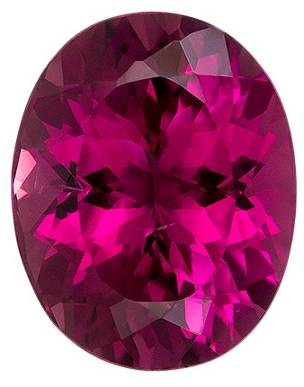 Authentic Pink Tourmaline Gemstone, Oval Cut, 3.53 carats, 10.9 x 8.7 mm , AfricaGems Certified - A Great Colored Gem