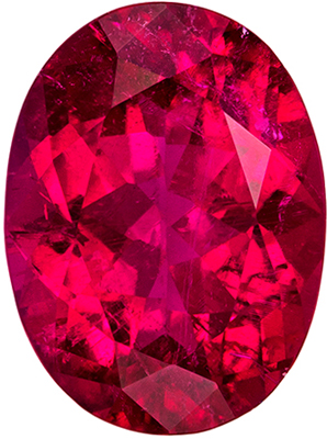Stunning Rubellite Tourmaline 3.56 carats, Oval shape gemstone, 11.6 x 8.7  mm