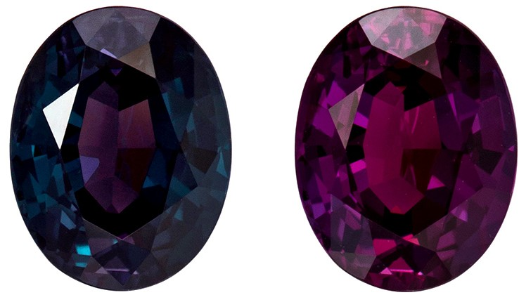 Super Rare Gem Gubelin Certified Large Alexandrite Gemstone, Rare Size in 3.57 carats, Oval Cut, 9.93 x 7.76 x 5.72 mm