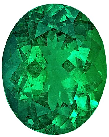 Ultra Gem GIA Emerald Gemstone 3.80 carats, Oval Cut, 11.78 x 9.39 x 6.28 mm Crystal Gem